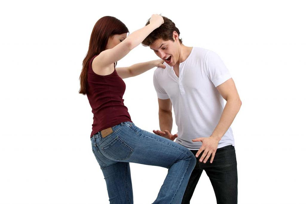 Knees and Elbows for Self-Defense