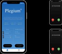 Plegium Smart Pepper Spray Emergency Phone Calls