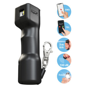 Plegium Smart Pepper Spray for sale at Mindful Defense Self-Defense